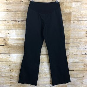 Motherhood Maternity Black Bootcut Pants Sz M